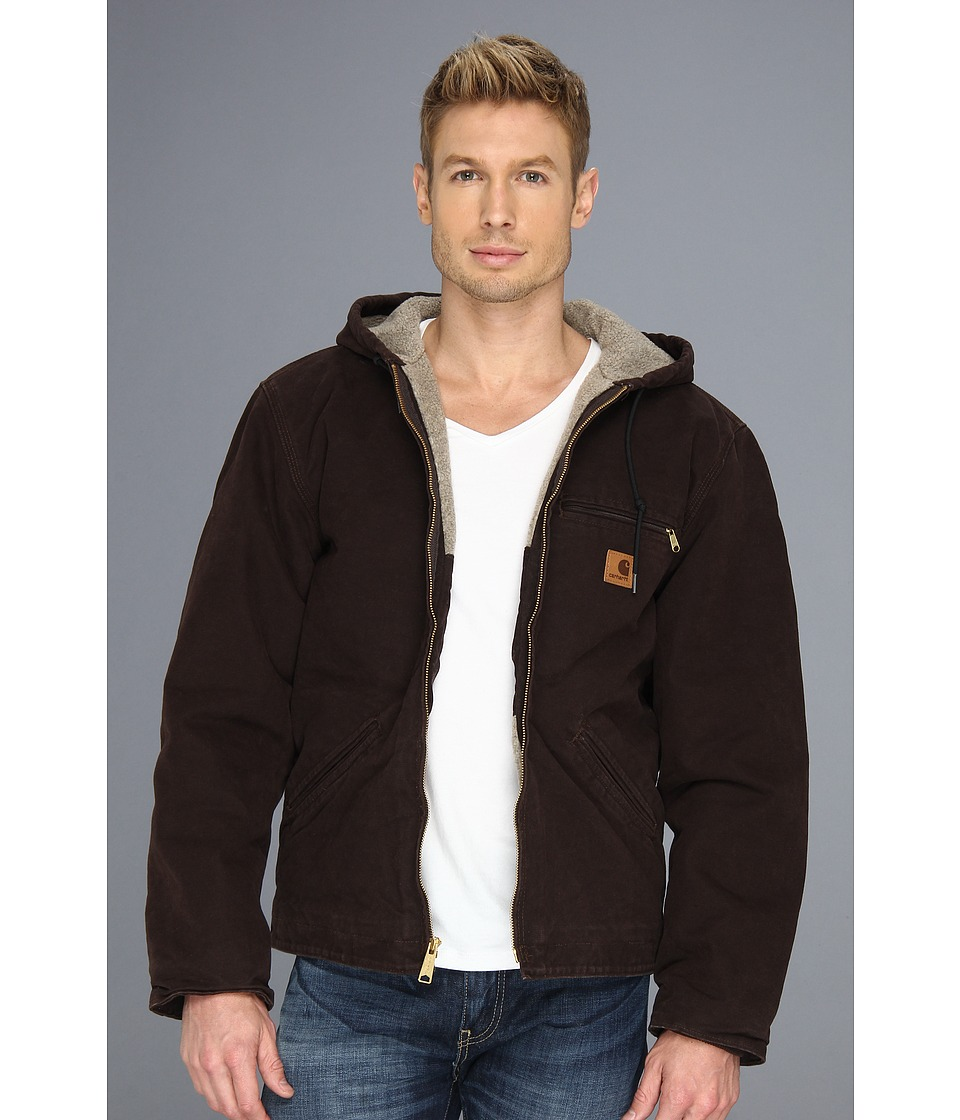 Carhartt - Sierra Jacket (3XL/4XL) (Dark Brown) Men's Jacket