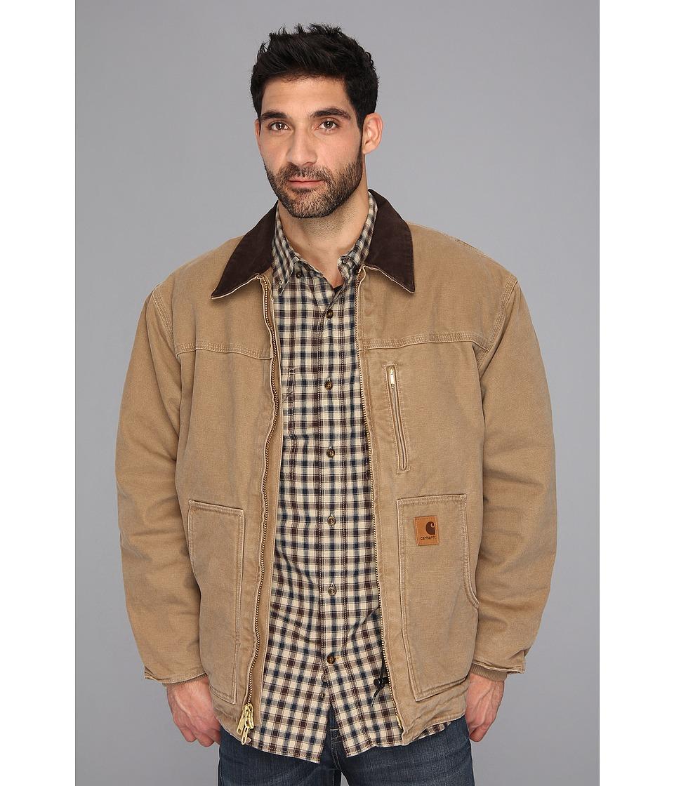 Carhartt - Sandstone Ridge Coat (Frontier Brown) Men's Jacket