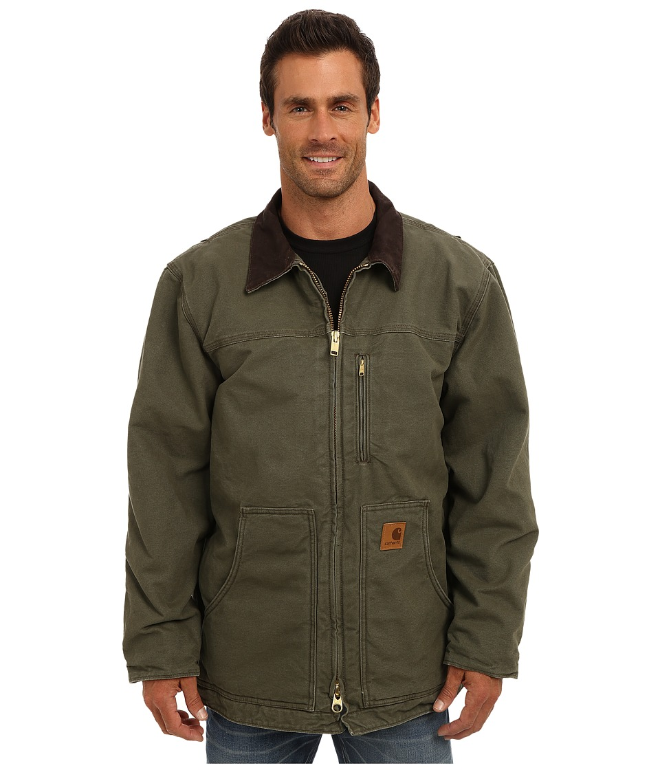 Carhartt - Sandstone Ridge Coat (Army Green) Men's Jacket