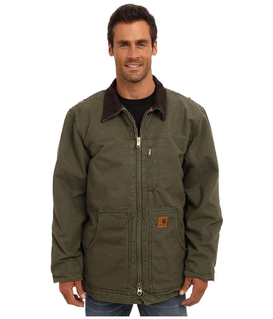 Carhartt - Sandstone Ridge Coat (Army Green) Men's Jacket