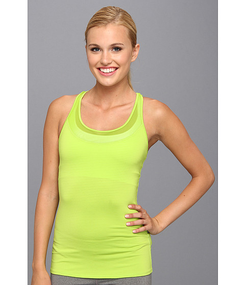 Roxy Outdoor - Hello Sunshine Racerback Tank Top (Neon Lime) Women
