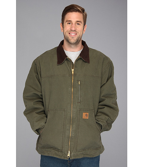 Carhartt - Sandstone Ridge Coat (3XL/4XL) (Army Green) Men's Coat