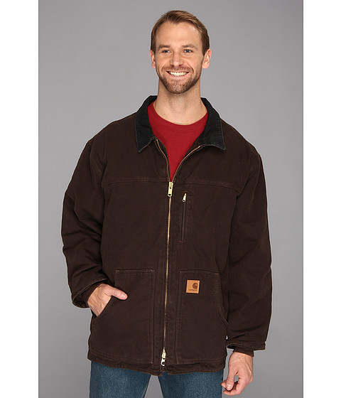 Carhartt - Sandstone Ridge Coat (3XL/4XL) (Dark Brown) Men
