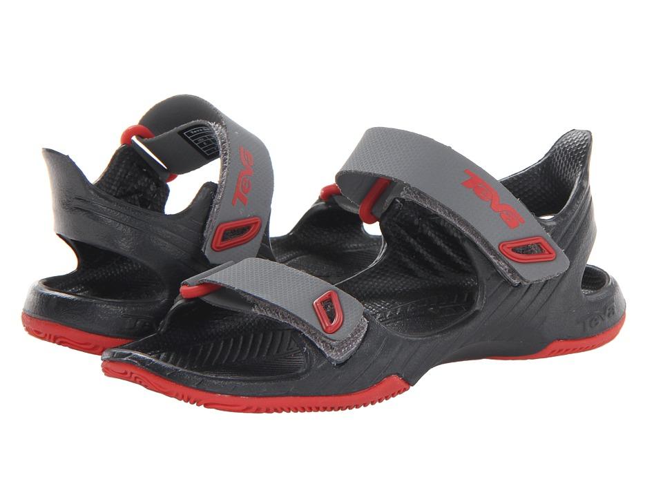Teva Kids Barracuda Boys Shoes (Gray)
