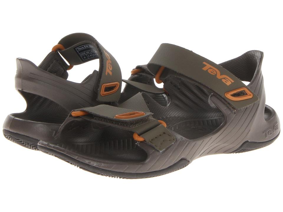 Teva Kids Barracuda Boys Shoes (Olive)