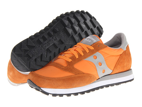 Saucony Originals - Jazz Original (Orange/Light Grey) Men's Classic Shoes