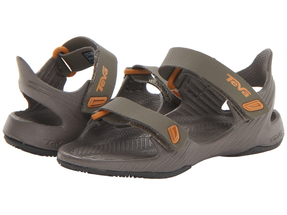 Teva Kids - Barracuda (Toddler) (Olive) Boys Shoes