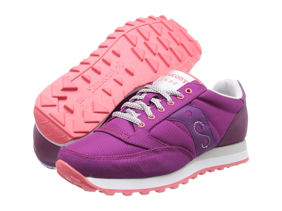 Saucony Originals - Jazz O Ballistic (Raspberry/Light Grey) Women's Shoes