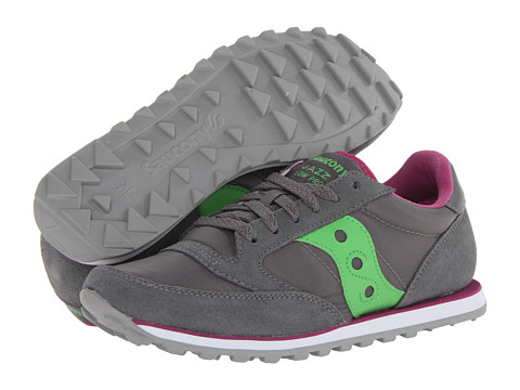 Saucony Originals - Jazz Low Pro (Dark Grey/Grass Green) Women's Classic Shoes