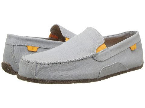 Sperry Top-Sider - Shore Leave Canvas (Grey) Men's Shoes