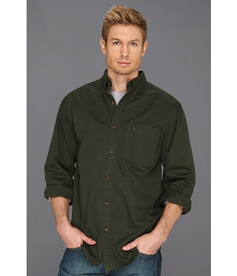 Carhartt - Hines Solid L/S Shirt (Forest Night) Men