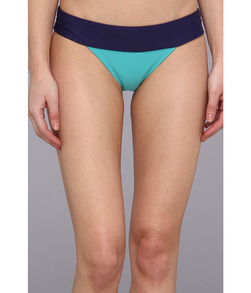 Roxy Outdoor - Wipeout Bikini Bottom (Indigo) Women