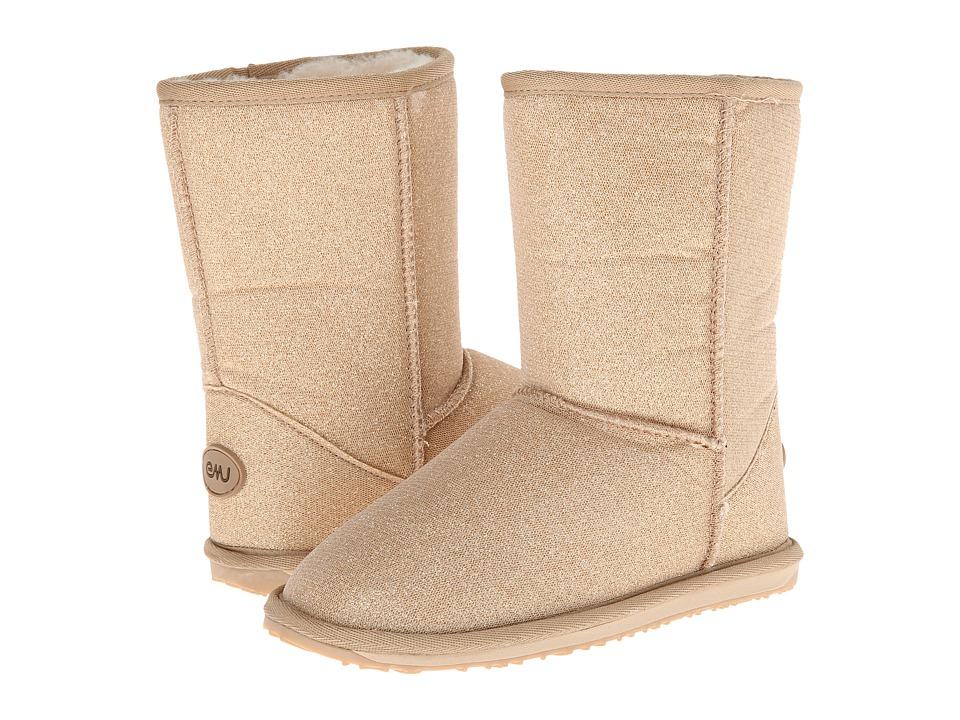 EMU Australia Kids - Sparkle (Toddler/Little Kid/Big Kid) (Gold) Girls Shoes