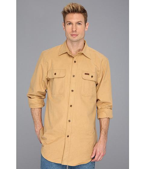Carhartt - Chamois L/S Shirt (Worn Brown) Men