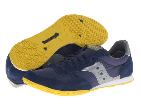 Saucony Originals - Bullet (Navy/Grey) Men's Classic Shoes