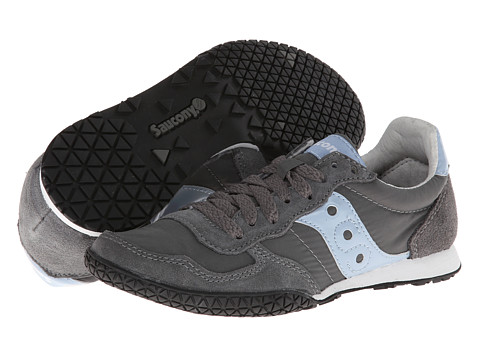 Saucony Originals - Bullet (Dark Grey/Light Blue) Women
