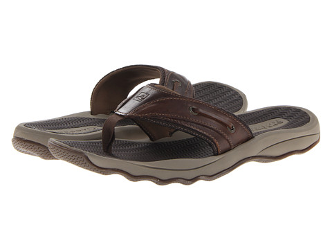 Sperry Top-Sider - Outer Banks Thong (Brown) Men
