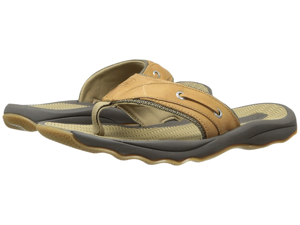 Sperry Outer Banks Thong (Tan) Men