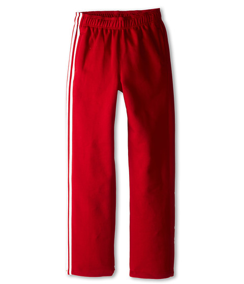 adidas Originals Kids - Heritage Fleece Pant (Little Kids/Big Kids) (University Red/White/White) Kid