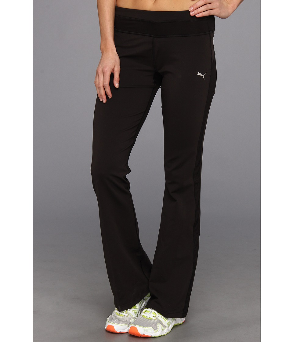 PUMA - Gym Regular Pant (Black) Women's Casual Pants