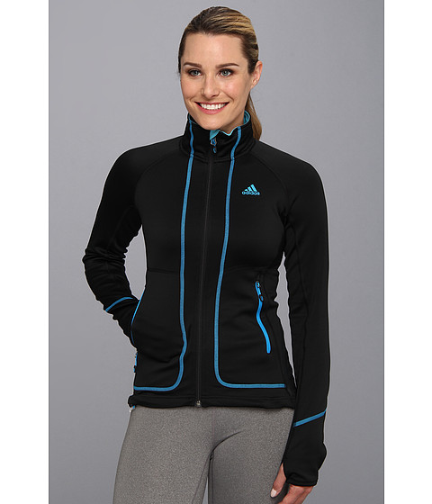 adidas Outdoor - Terrex Swift Pordoi Fleece (Black) Women's Coat