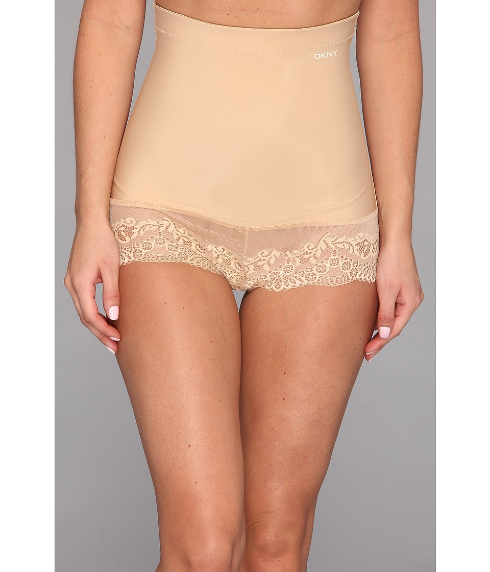 DKNY Intimates - Seductive Lights High-Waist Shortie Boyshort (Skinny Dip) Women's Underwear
