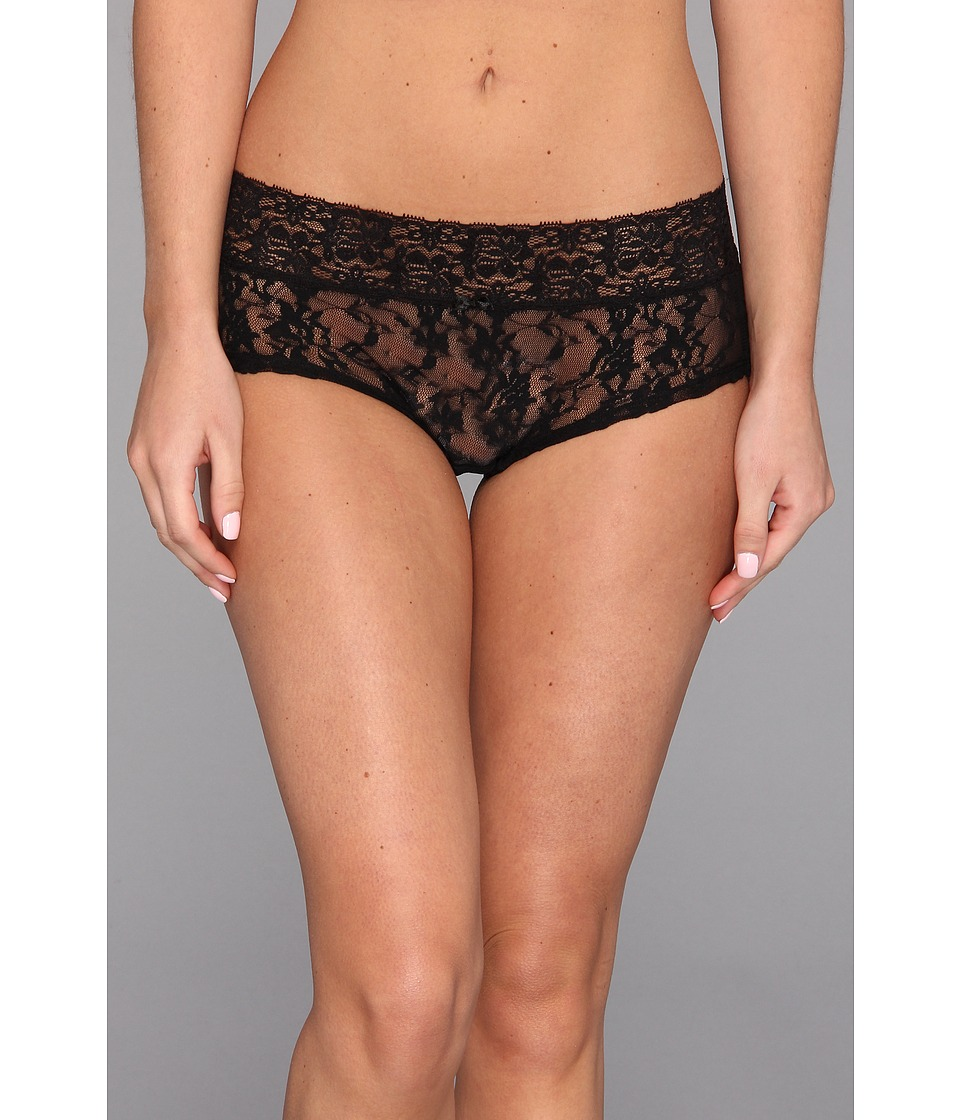 DKNY Intimates - Signature Lace Boyshort (Black) Women's Underwear
