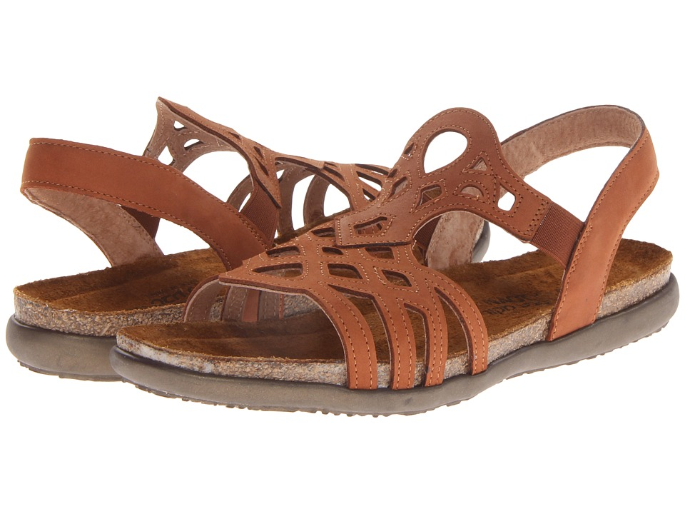 Naot Footwear Rebecca (Hawaiian Brown Nubuck) Women