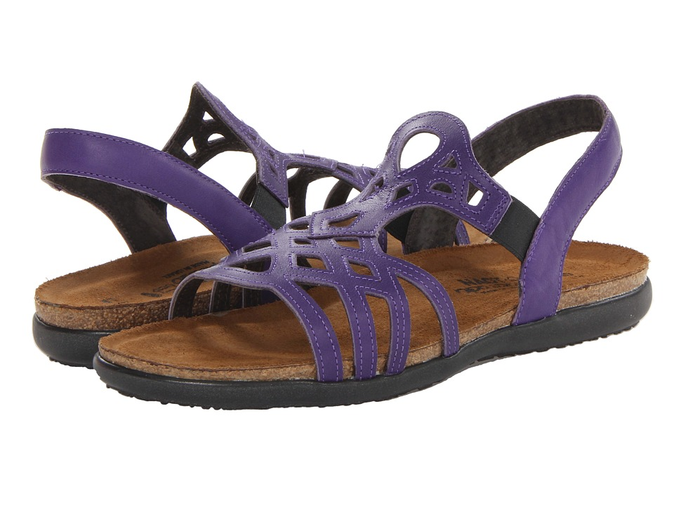 Naot Footwear - Rebecca (Purple Leather) Women's Shoes