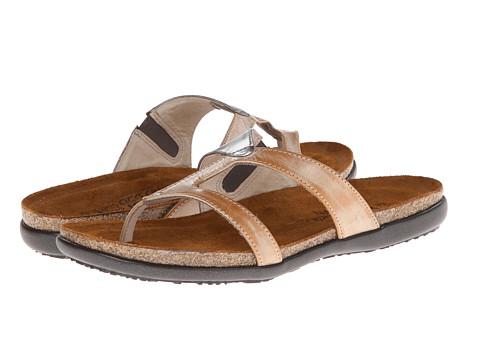 Naot Footwear - Francine (Biscuit Leather/Mirror Leather/Bone Nubuck) Women