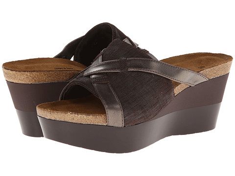 Naot Footwear - Eve (Mine Brown Leather/Pewter Leather) Women