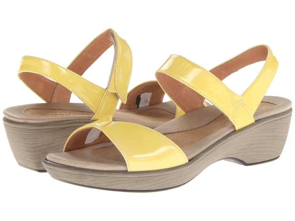 Naot Footwear - Chianti (Yellow Patent Leather) Women's Shoes