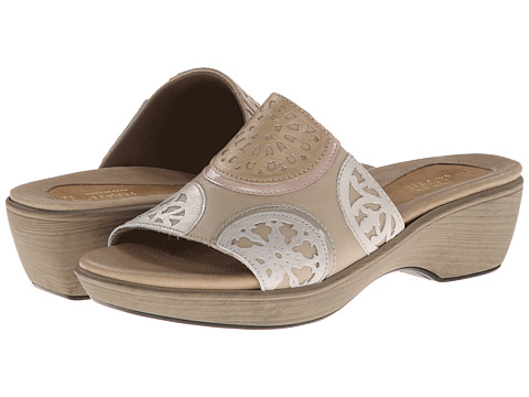 Naot Footwear - Vintage (Linen Leather/Satin Beige Leather/Pearl Patent Leather) Women