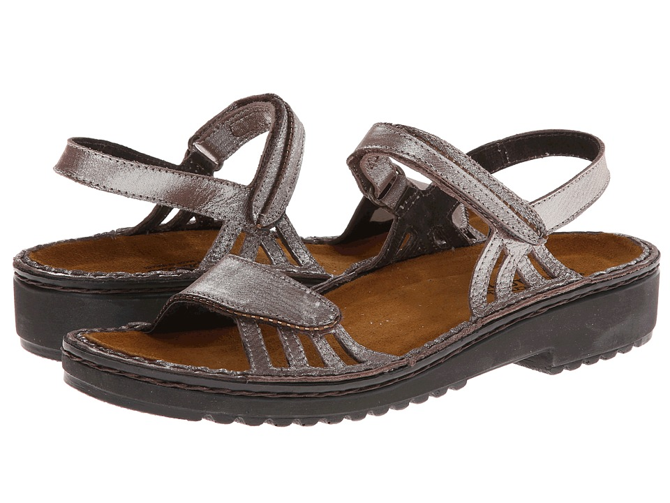 Naot Footwear - Anika (Silver Threads Leather) Women's Sandals