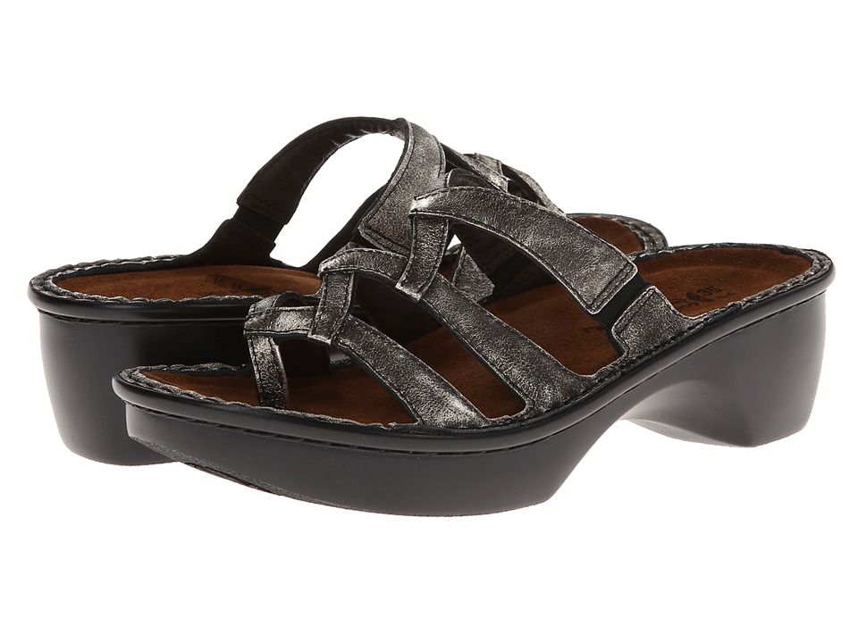 Naot Footwear - Bilbao (Metal Leather) Women's Shoes