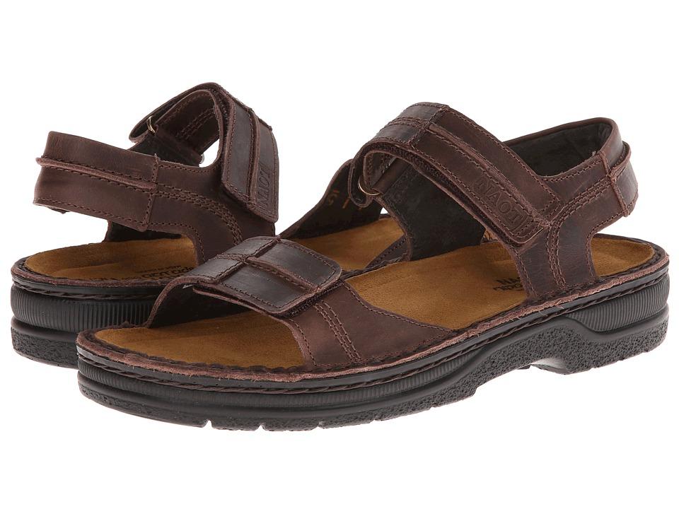 Naot Footwear - Balkan (Crazy Horse Leather) Men's Shoes