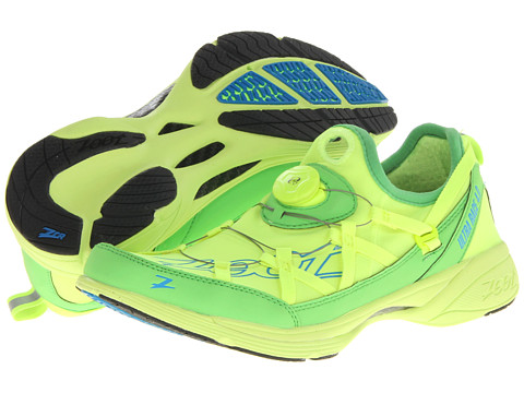 Zoot Sports - Ultra Race 4.0 + BOA (Safety Yellow/Green Flash/Zoot Blue) Men's Running Shoes