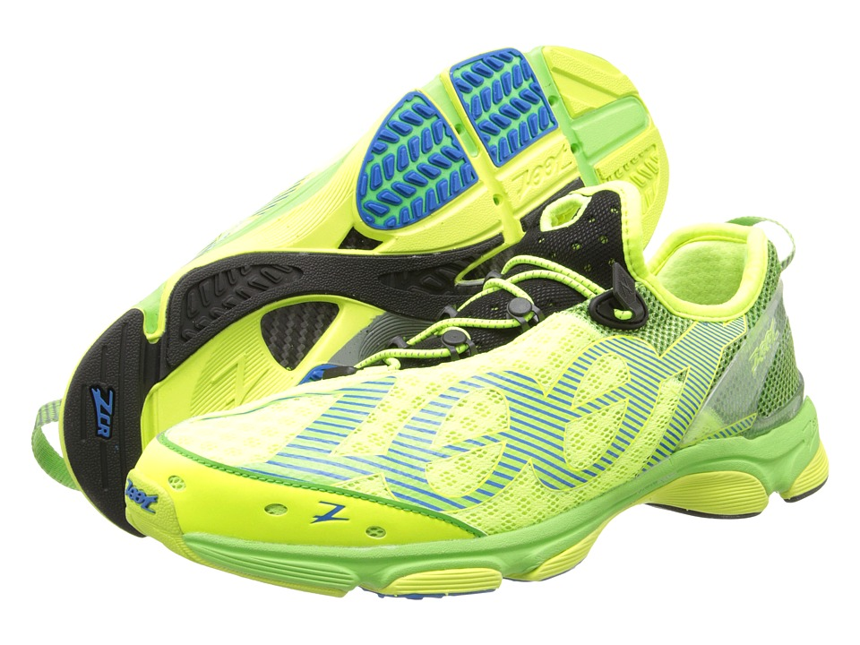 Zoot Sports - Ultra Tempo 6.0 (Safety Yellow/Green Flash/Zoot Blue) Men's Running Shoes
