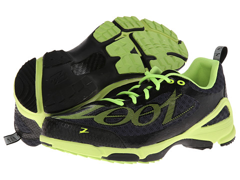 Zoot Sports - TT Trainer WR (Graphite/Safety Yellow/Black) Men's Running Shoes