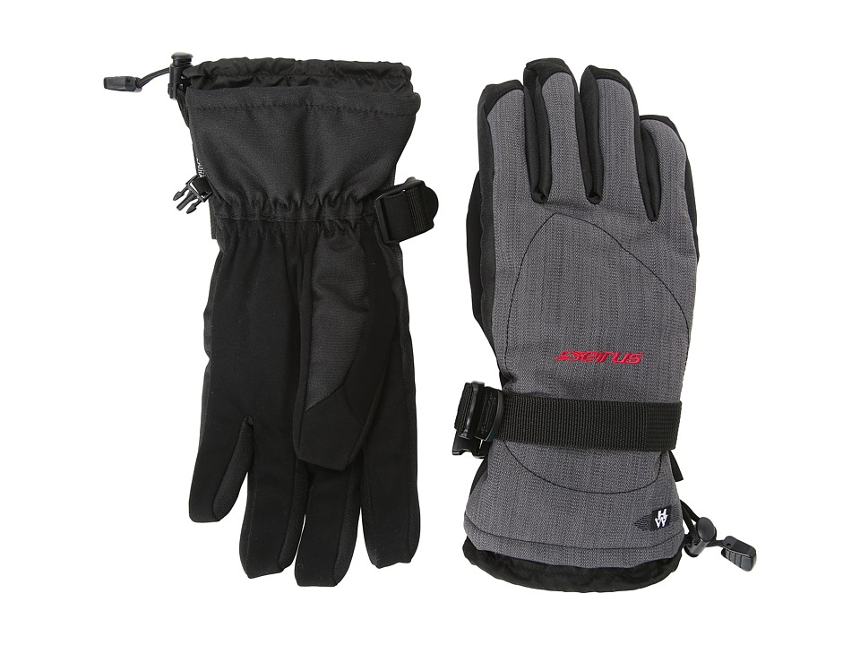 Seirus - Heatwave Zenith Glove (Heather Charcoal) Extreme Cold Weather Gloves