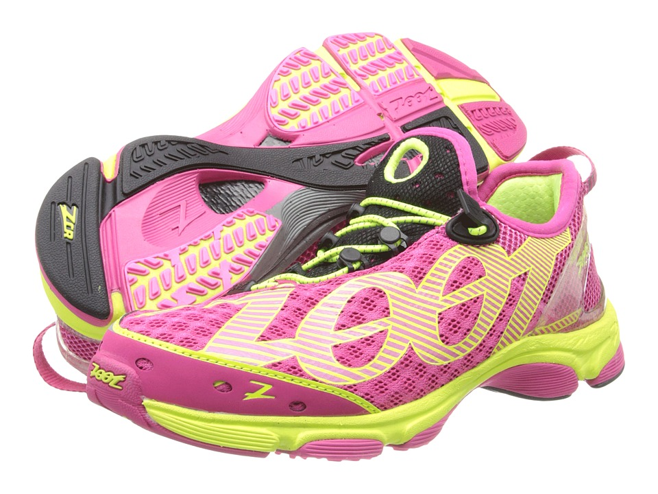 Zoot Sports - Ultra Tempo 6.0 (Beet/Safety Yellow/Black) Women's Running Shoes