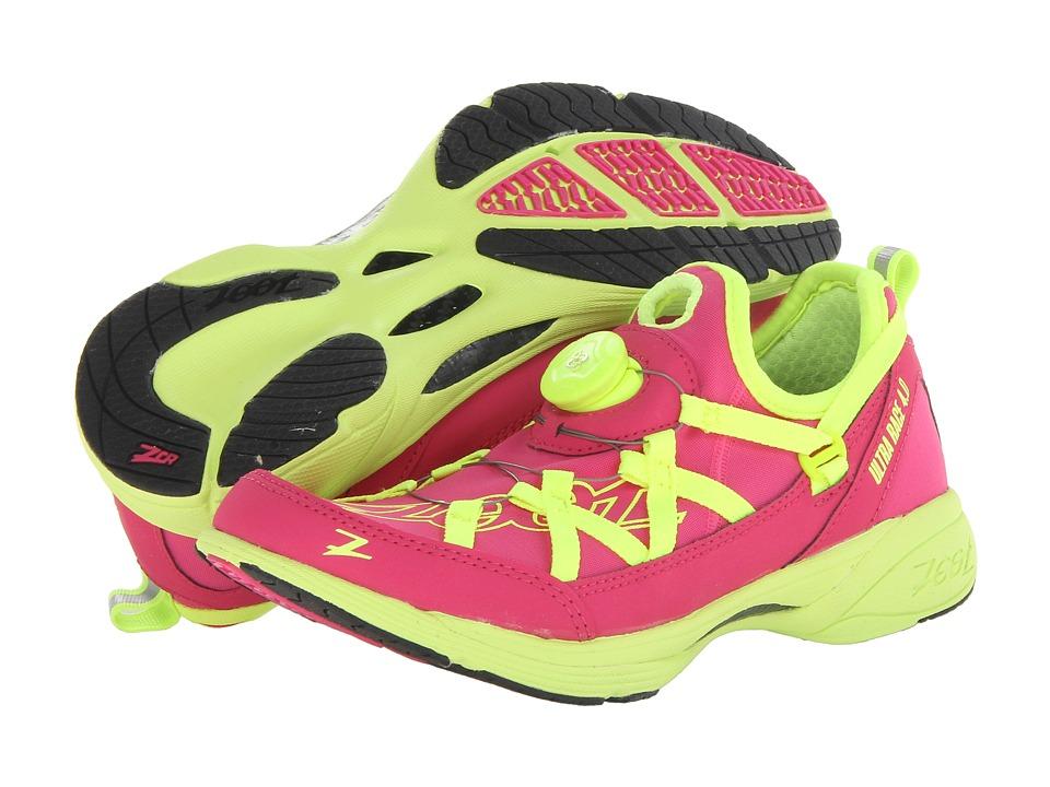 Zoot Sports - Ultra Race 4.0 + BOA (Beet/Safety Yellow) Women