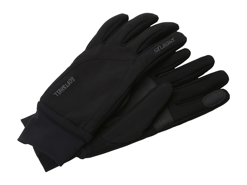 Seirus - Softshell Lite Glove (Black) Extreme Cold Weather Gloves