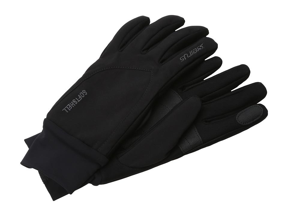 Seirus - Softshell Lite Glove (Black) Extreme Cold Weather Gloves