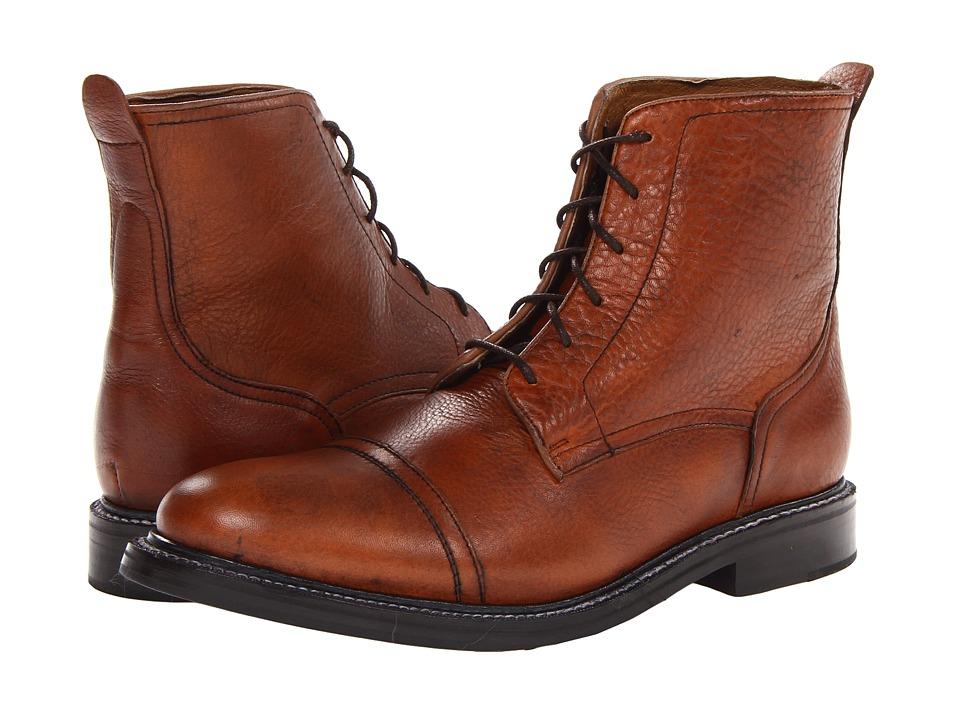 JD Fisk - Cobra (Tan) Men's Lace-up Boots