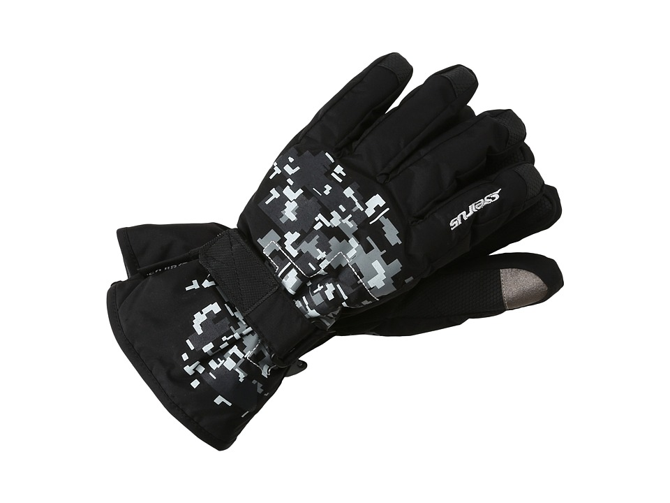 Seirus - Soundtouch Jr Digi Glove (Black/Gray) Extreme Cold Weather Gloves