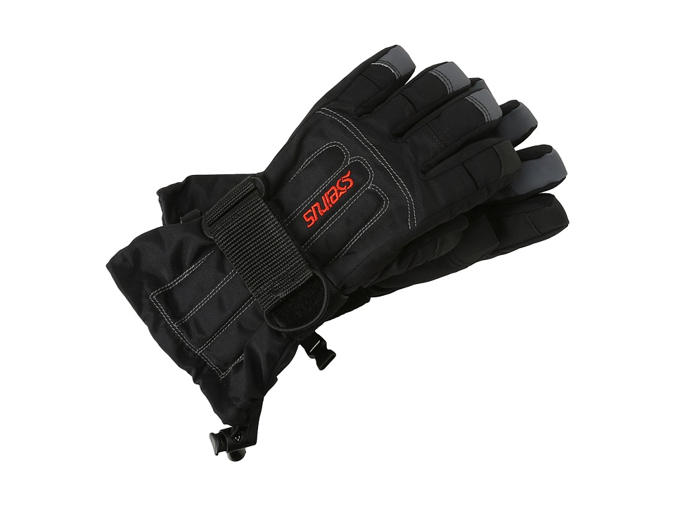 Seirus - Jr Skeleton Glove (Black) Extreme Cold Weather Gloves