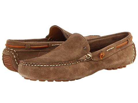 JD Fisk - Fuller (Khaki) Men's Slip on Shoes