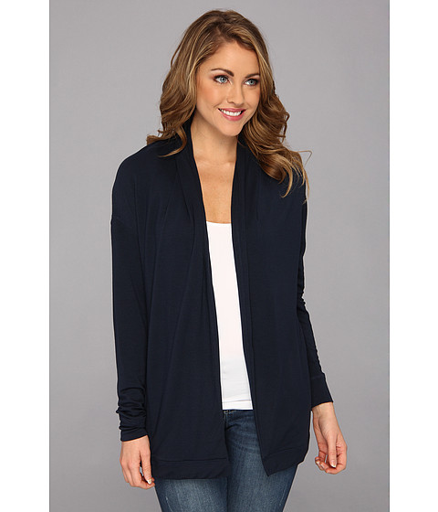 NYDJ - French Terry Cardigan (Mediterranean) Women's Sweater