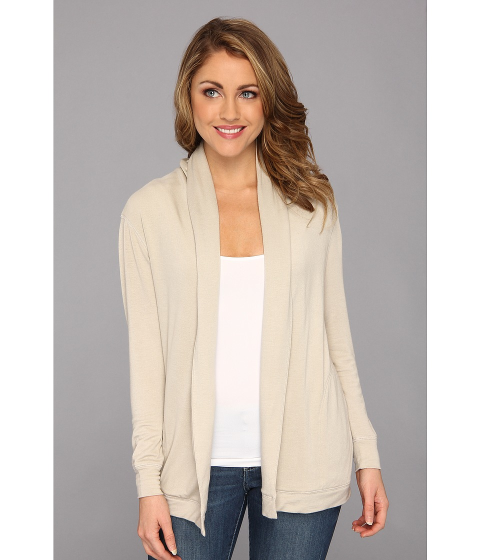 NYDJ - French Terry Cardigan (Stone) Women's Sweater